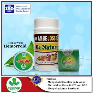 Obat Herbal Wasir Atau BAB Berdarah De Nature Paling Ampuh