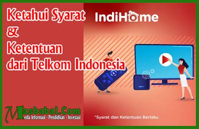 Ketahui Syarat & Ketentuan dari Telkom Indonesia