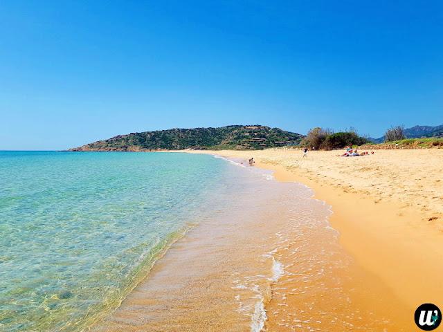 Sa Colonia beach, Chia | Sardinia, Italy | wayamaya
