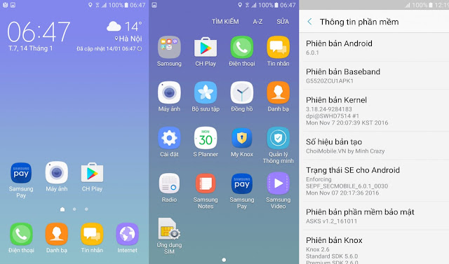 Rom tiếng Việt cho Samsung Galaxy On5 SM-G5520 ( ON5 2016) – fix all, add CH Play