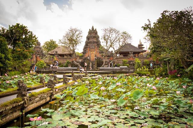 Tempio Pura Taman Saraswati, Ubud-Bali