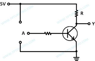 Analog NOT gate circuit