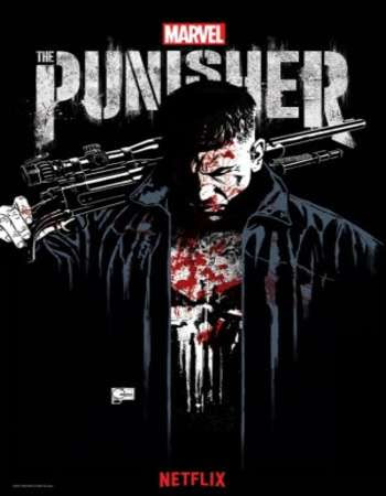 Poster Of The Punisher Season 01 Complete 2017 Watch Online Free Download