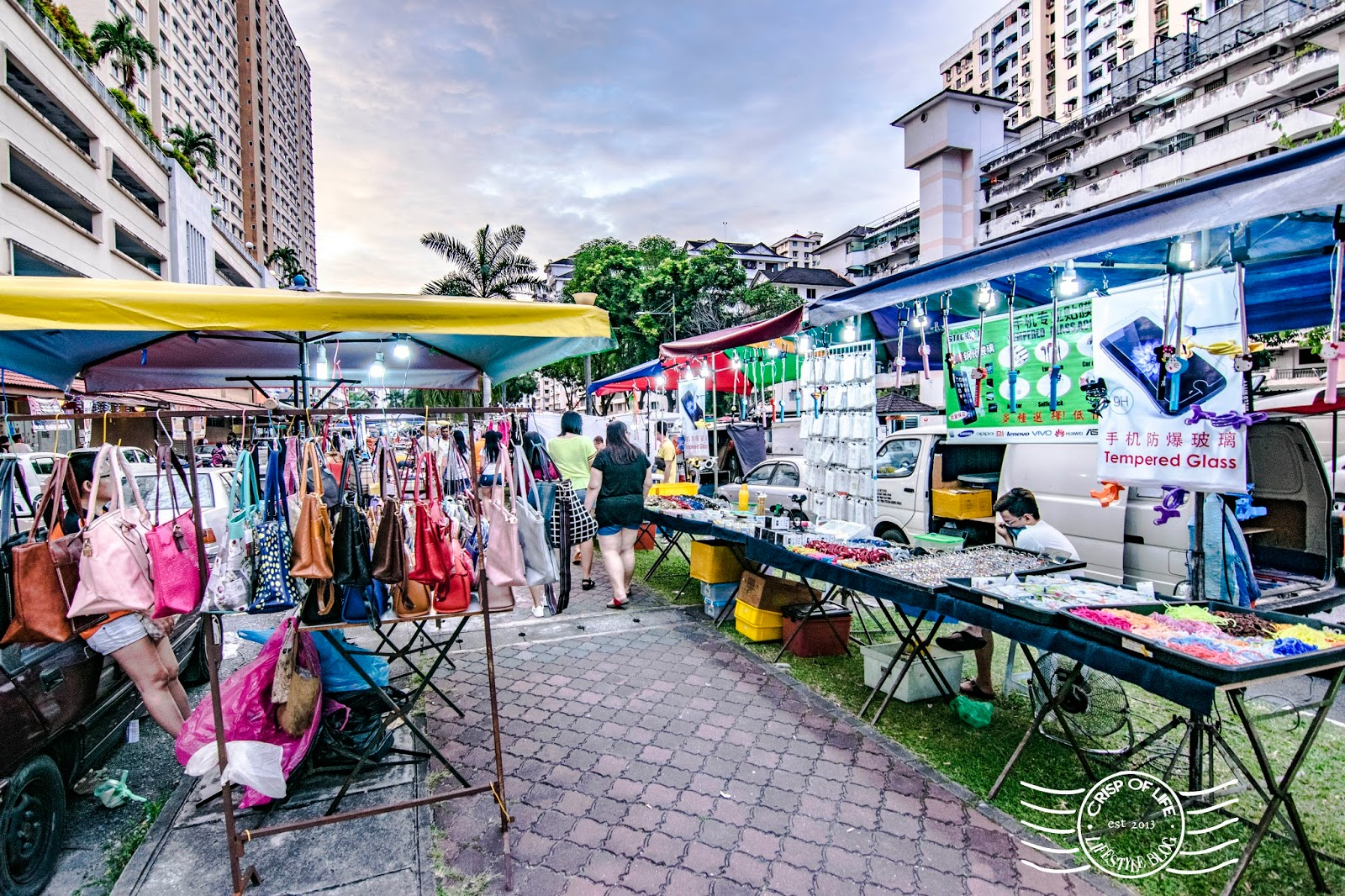 Perak Road Night Market on Every Friday @ Jalan Van Praagh Penang (Taman Kheng Tian), Penang