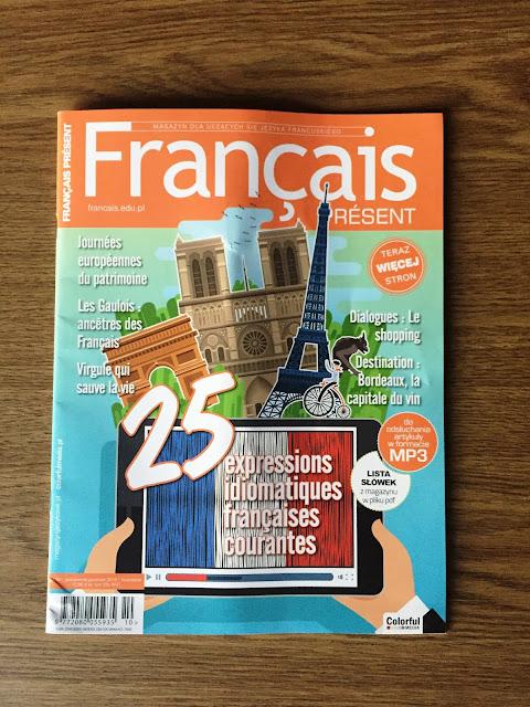 """""""Français Présent 50/2019"""" - nagłówek - Francuski przy kawie"""