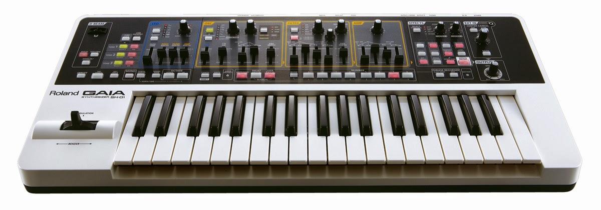 Roland Gaia Sh 01 Synthesizer Kurnia Musik Semarang