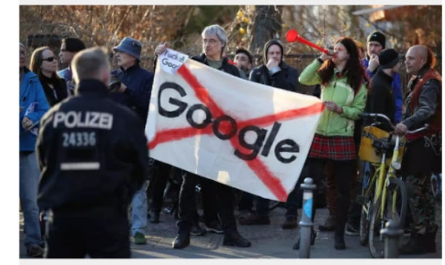 Google abandon Berlin base after two years of resistance
