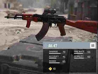 Senjata Tersakit di CODM