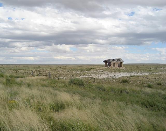 Stone building, Highway 54, between Vaughn and Santa Rosa, New Mexico. September 2013.