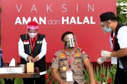 Idham Azis Mengaku Kondisi Tubuh Sehat dan Baik Setelah Vaksinasi COVID-19
