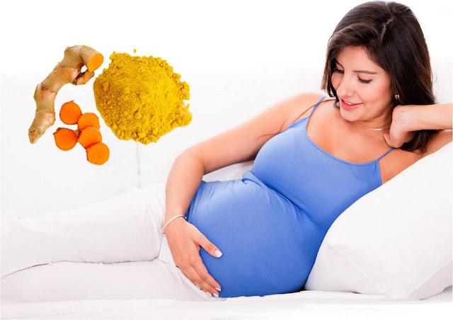 Lý do sau khi sinh bà bầu nên dùng nghệ