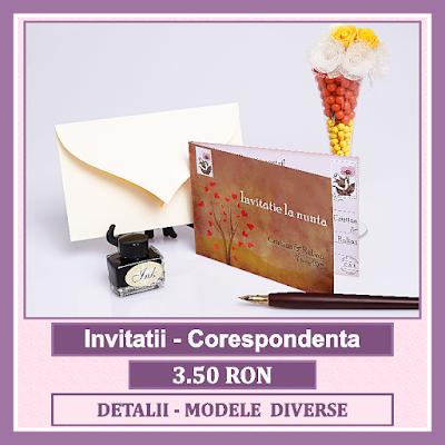 http://www.bebestudio11.com/2018/03/invitatii-nunta-corespondenta.html