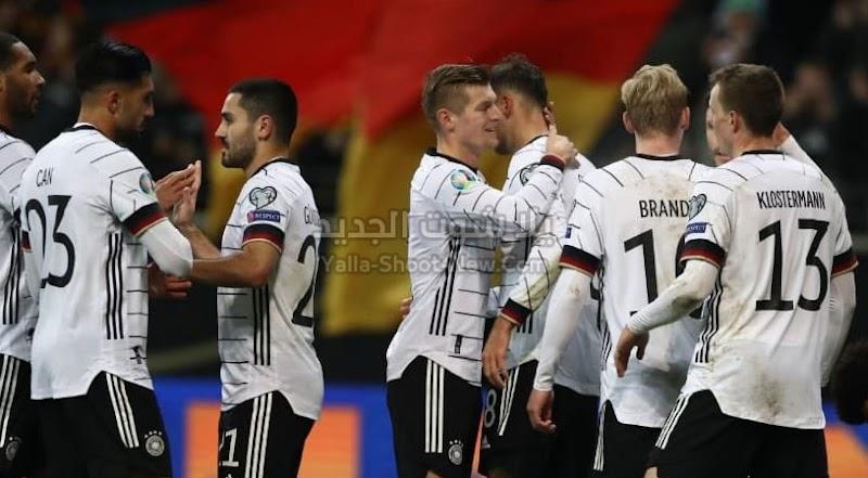 6-1 نتيجة مباراة المانيا وإيرلندا الشمالية في الجولة الاخير من التصفيات المؤهلة ليورو 2020