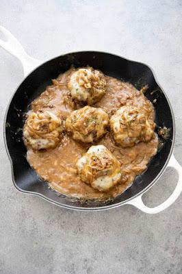 ★★★★★ | French Onion Salisbury Steak
