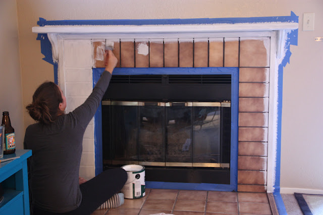 islay street style Fireplace Makeover