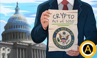 عضوٌ بالكونغرس الأمريكي يقدم قانون العملات المشفرة لعام 2020