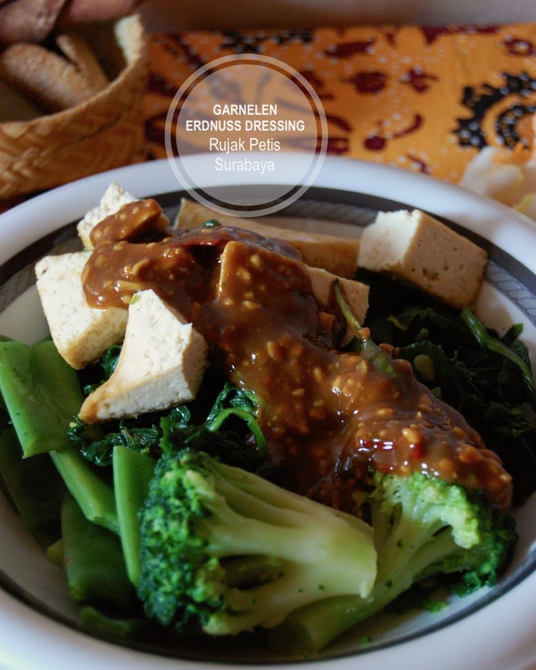 Rezept Rujak Petis, Erdnuss-Dressing für Gemüsesalat