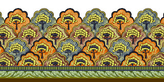 Traditional-illustration-indian-motif-textile-border-210052