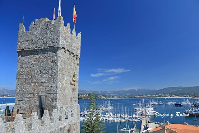 Torre del reloj, fortaleza de Monterreal, Baiona