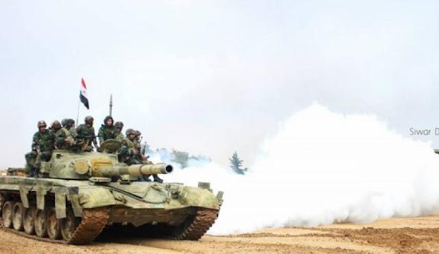 الجيش السوري يحبط محاولتي تسلل لمجموعات إرهابية على نقاط عسكرية بريف حماة