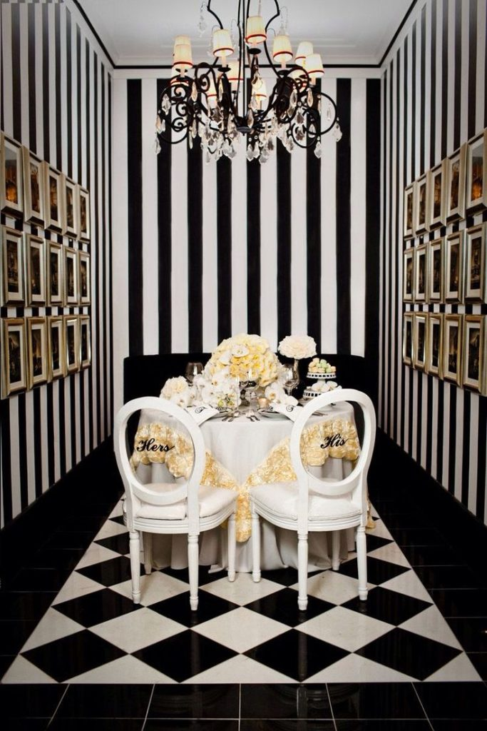 Tips In Using Black And White Color In Your Home Décor