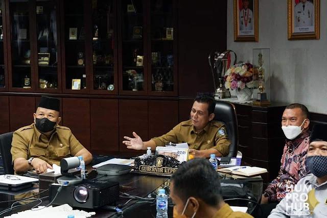 Gubernur Ansar dan Dubes KBRI Tokyo Bahas Rencana Pembangunan Pelabuhan Samudera Teluk Buton
