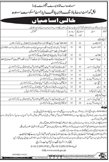 sindh-solid-waste-management-board-jobs-2021-advertisement