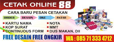 Spanduk MMT Murah Semarang Free Design