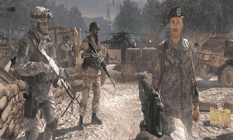 تحميل لعبة Call of Duty 4 للكمبيوتر مجانا