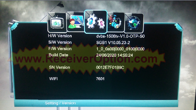 1506TV 512 4M NEW SOFTWARE WITH NOVA SHARE PRO & G SHARE PLUS OPTION