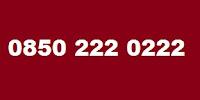 0850 222 0222 Telefon Numarası Kimin