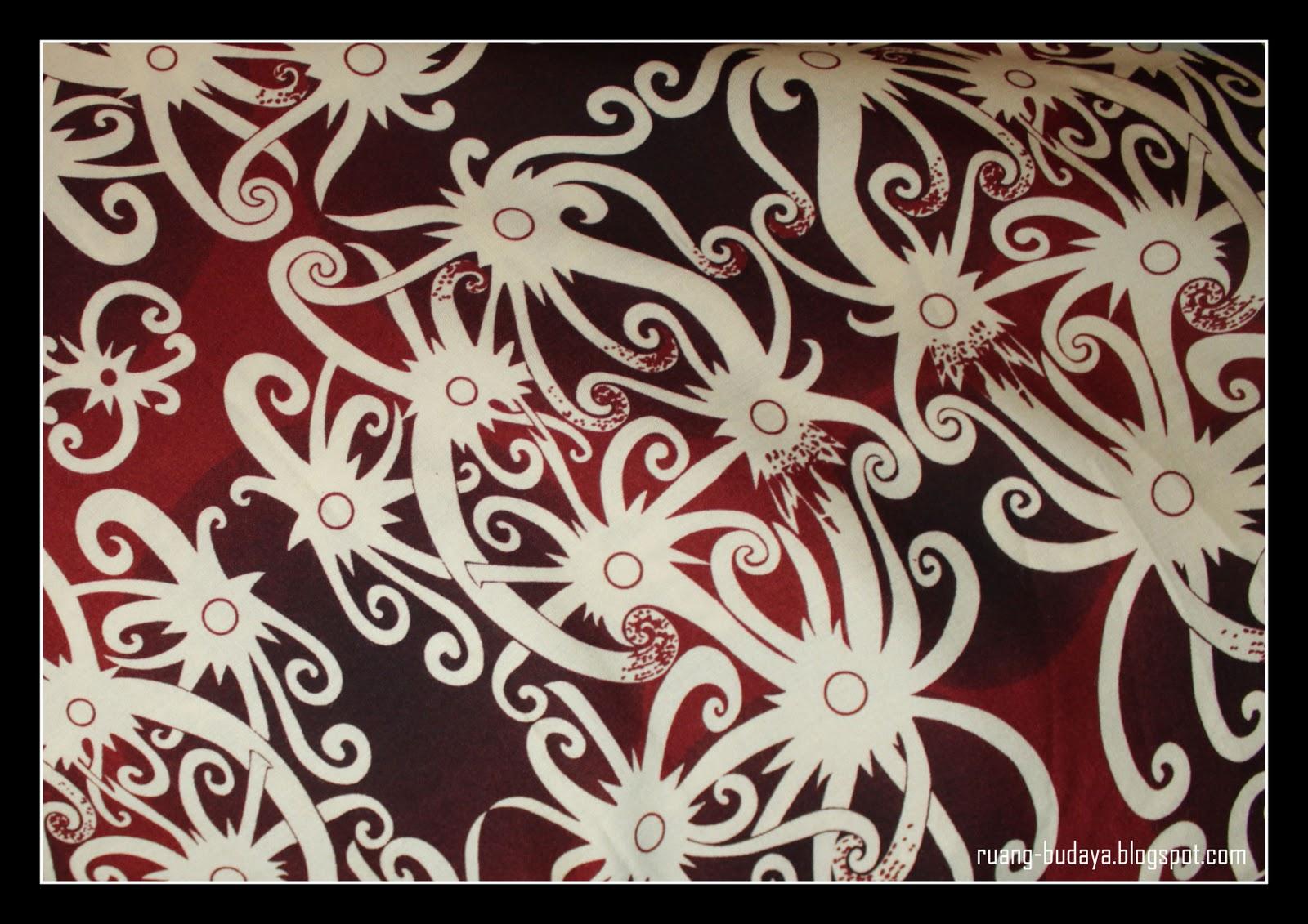 Contoh Batik Kalimantan Utara Gerotoh