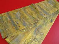 西陣織の袋帯で、礼装用です