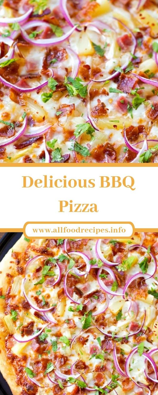 Delicious BBQ Pizza