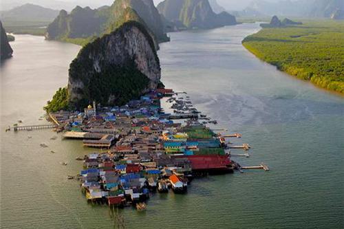 10 ngôi làng nổi trên khắp thế giới