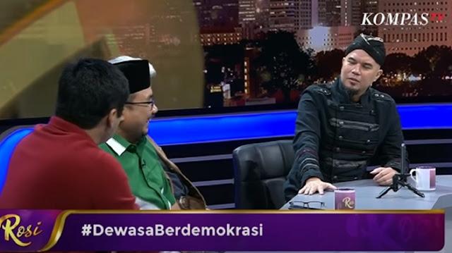 Ahmad Dhani Tagih Yaqut dan Maruarar Sirait untuk Gebuk Pengganti Pancasila