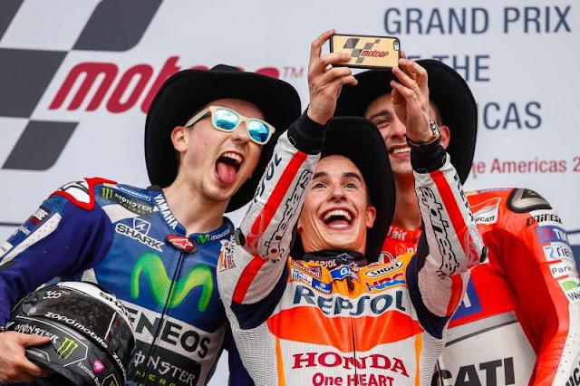 Semua mata tertuju pada Marc Marquez (Repsol Honda Team)