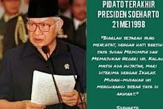 Tommy Soeharto Unggah Pidato Terakhir Presiden RI ke-2 , Warganet: Seburuknya Orde Baru Gak Pernah Pakai Dana Haji