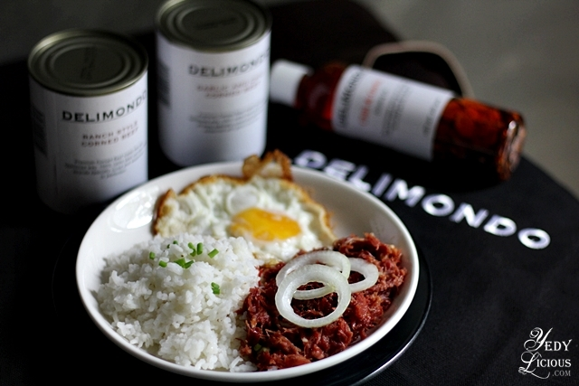 CornSiLog Made With Delimondo Corned Beef