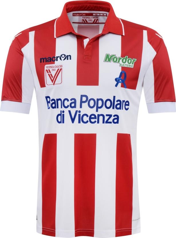 a1da9a2efc74c Macron apresenta as novas camisas do Vicenza - Show de Camisas