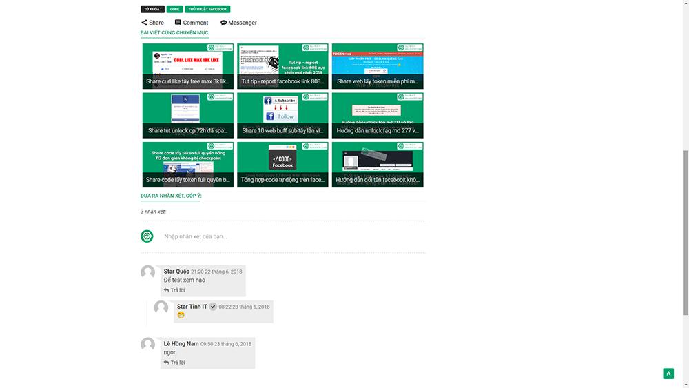 Bán Template blogspot Sparks Premium edited v3.5 chuẩn seo, bán template cá nhân