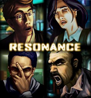 Ilustración de los cuatro personajes jugables.