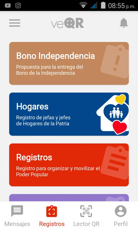 Consulte Monedero Patria Depósito del BONO INDEPENDENCIA  por un millón de bolívares