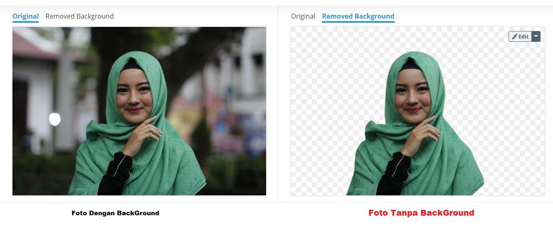 Cara Menghilangkan Background Gambar Secara Online