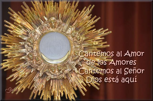 Resultado de imagen de viva jesus sacramentado