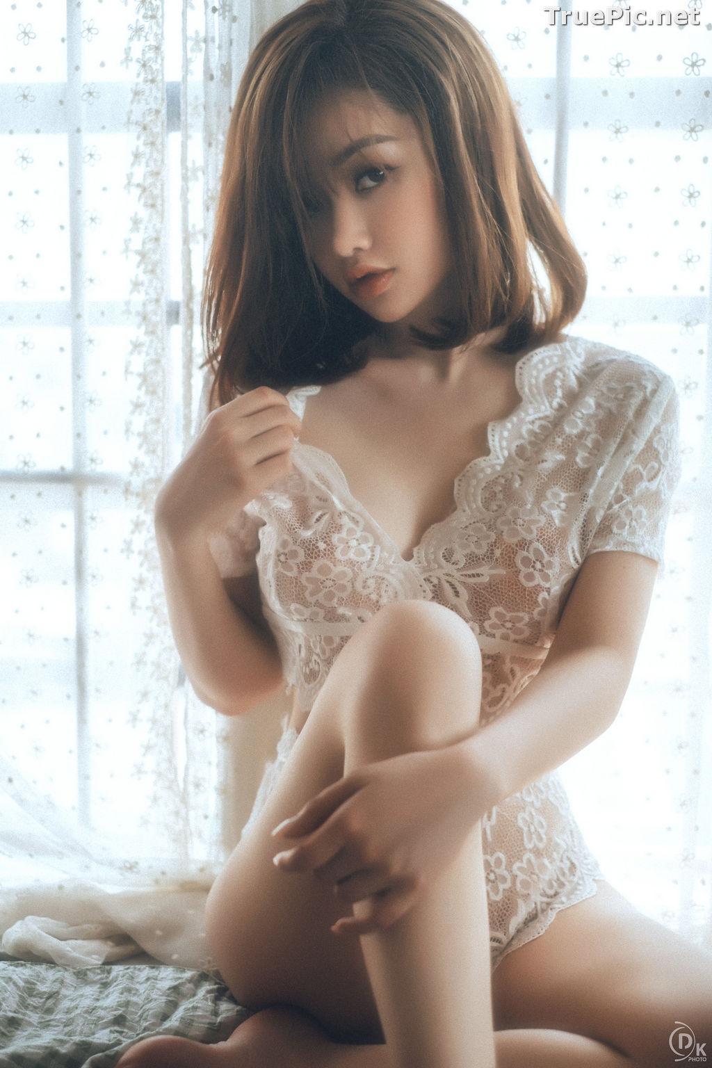 Image Vietnamese Hot Model - Sleepwear and Lingerie Under Dawnlight - TruePic.net - Picture-2