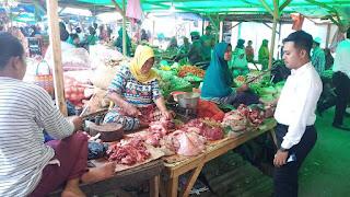 Social Distancing Tangkal Covid19, Satgas Pangan Polda NTB Pantau Ketersediaan Sembako