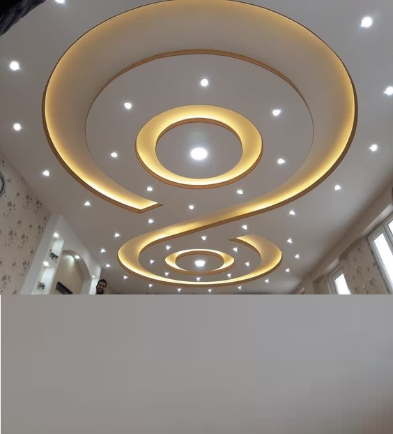 Top catalog of gypsum board false ceiling designs 2019
