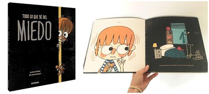 libro infantil sobre miedos niños