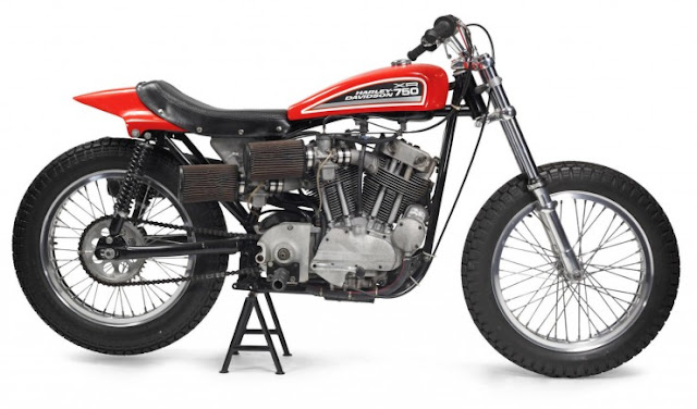 Harley Davidson XR750 1972: King of Dirt Track